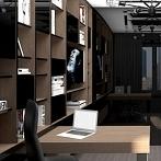 Okładka domowe biuro / gabinet w domu
