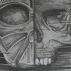 Okładka Vader - etapy rysowania
