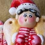 Okładka Moje prace - Mikołajowe Aniołki z masy solnej