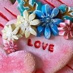 Okładka Moje prace - Walentynkowe Serca z masy solnej