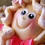 Okładka Moje prace - Walentynkowe Aniołki z masy solnej