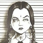 Okładka Wednesday Addams