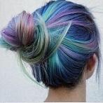 Okładka Kolorowe włosy