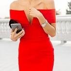 Okładka Czerwone sukienki
