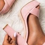 Okładka Różowe sandałki