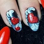 Okładka Valentines nails