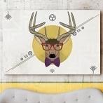 Okładka Obrazy z motywem jelenia