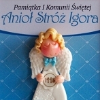 Okładka Pamiątki I Komunii Św. - aniołki dla chłopców