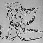 Okładka Mój idol,czyli szkice,rysunki Glena Keane :D