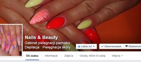 Okładka Nails & Beauty