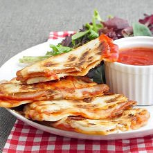 Pepperoni Pizza Quesadilla