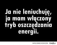 Lenistwo.