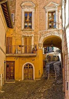 Golden Passage, Rome, Italy.