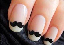 nails, moustache