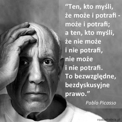 Picasso Mądry Gość Na Cytaty Zszywkapl