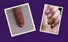 pierwsza próba water nails ;-)
