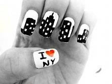 Paznokcie I ♥ NY