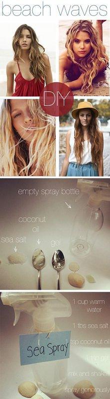Beach Hair Spray.