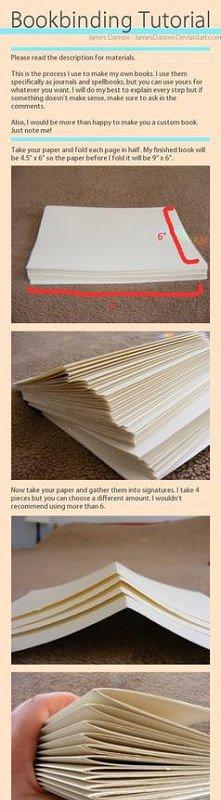 książka - notes diy
