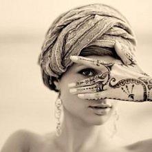 kobieta, tatuaż