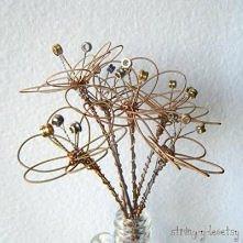 Kwiaty ze strun gitarowych