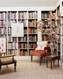 Pokój ubrany w książki