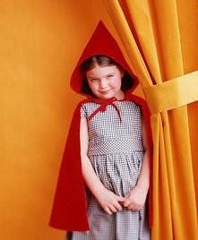 strój Czerwonego Kapturka