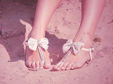 słodkie sandałki