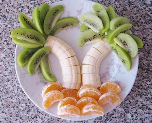 Pomysł na ciekawe podanie owoców.