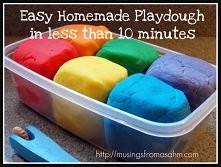 Jak zrobić własne Playdough w mniej niż 10 minut -