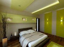 sypialnia odcienie zieleni