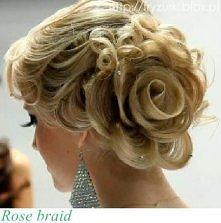 ślubna róża