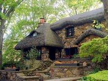 kamienny domek