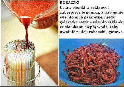 Przepis na robaczki ;)