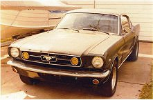 Classic Mustang - 1965 fastback