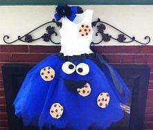 Sukienka Cookie Monster ;P