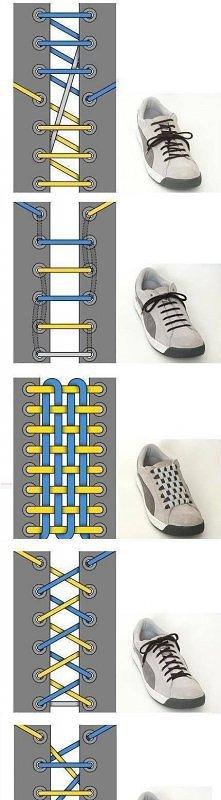 Jak wiązać sznurówki ;)