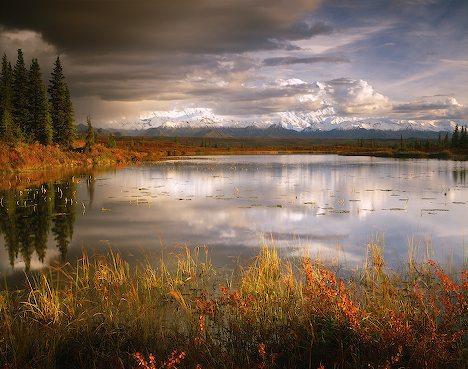 jesień na Alasce