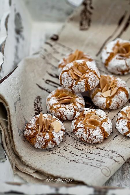 Włoskie ciasteczka migdałowe