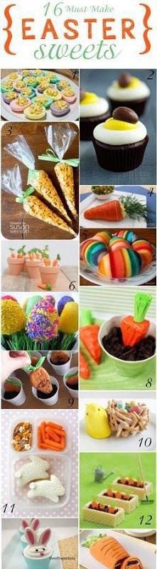 16 sposobów na wielkanocne słodkości