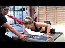 Ćwiczenia na mięśnie klatki piersiowej dla kobiet