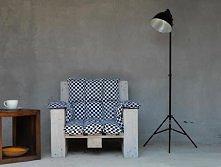 Fotel z palet - autor Aleksandra Grzyb