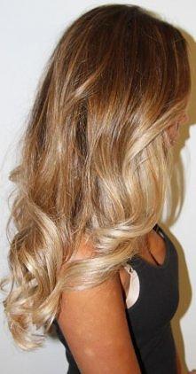 szampański blond