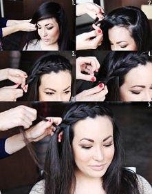 Jak zrobić ciekawą i ładą fryzurę.