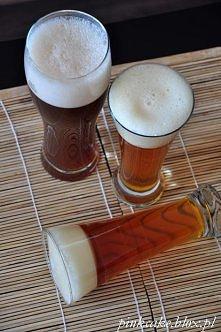 Do jasnego piwa użyłam galaretki cytrynowej, ciemne piwo uzyskałam przez dodatek brązowego cukru muscovado.<br>&amp...