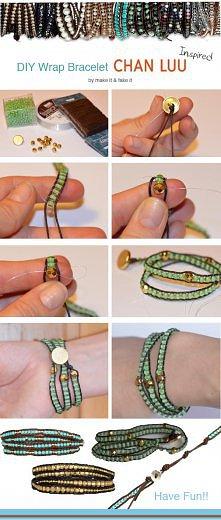 Jak zrobić bransoletkę.