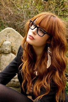 śliczny kolor włosów ;)