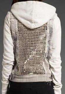 DIY kamizelka + bluza sportowa