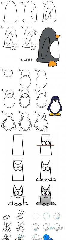 rysowanie zwierzątek