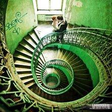 Spiralne schody...